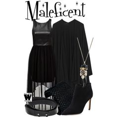 Inspired by Angelina Jolie as the title character in 2014's Maleficent.