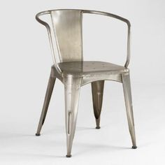 One of my favorite discoveries at WorldMarket.com: Metal Jackson Tub Chair
