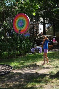 ikat bag: Archery Party - Target Pinata