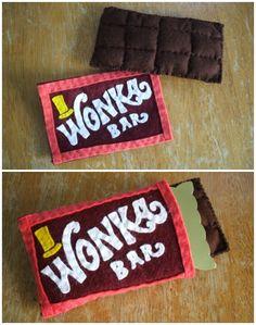 Wonka Bar Made Of Felt | Book Week costume