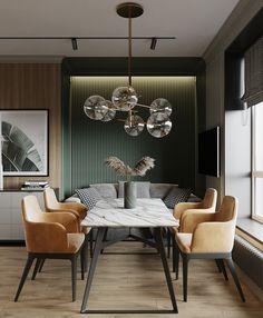 Home Room Design, Dining Room Design, Home Interior Design, Interior Architecture, House Design, Luxury Dining Room, Dining Room Sets, Condo Living, Living Room Decor