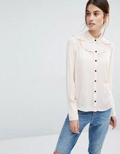 Vero Moda Ruffle Shirt