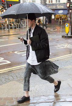 TheFuckMenswear Street Style in London FW14