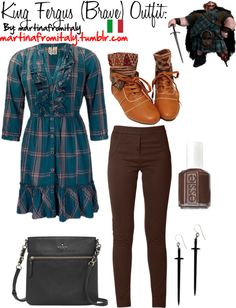 """""""King Fergus (Brave) Outfit:"""" by martinafromitaly ❤ liked on Polyvore"""