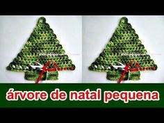 ÁRVORE DE NATAL EM CROCHÊ - YouTube