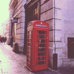 London!!! oh how iconic those phone booths are!