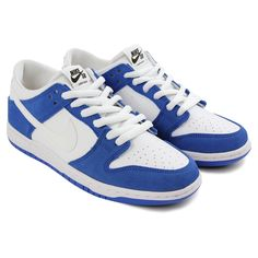 c09db52274a9 Dunk Low Pro Ishod Wair Shoes in Blue Spark   White - Black by Nike SB