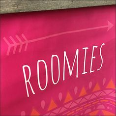I couldn't resit commenting on the unusual merchandise. If you need a fixtures justification try the Roomies Directional Banner On Tip Hook title.