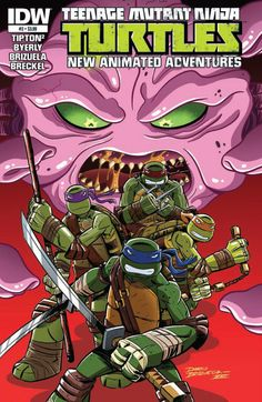 Mikey Hates Zombies In 'Teenage Mutant Ninja Turtles New Animated Adventures' #3