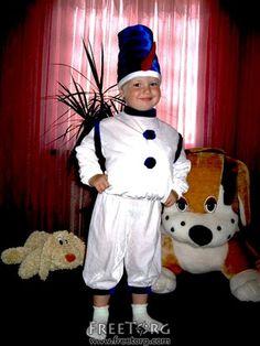 детский костюм снеговика - Поиск в Google