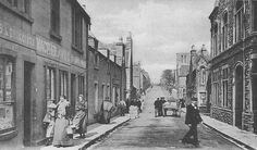 ... Scotland Photographs: Old Photograph Francis Street Stornoway Scotland