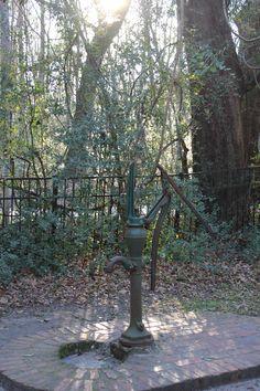 Pump at the ruins at Sheldon Church