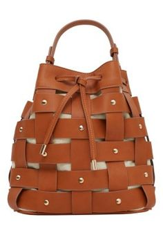 Mango CINTIA - Shopping bag - leather - Zalando.it