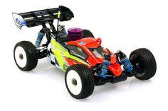 GS Racing Storm CLX Pro 1/8th Nitro RC Buggy KIT