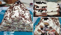 Nepečená tvarohová strieška s ovocím   NajRecept.sk No Bake Treats, No Bake Desserts, Yummy Treats, Cakes And More, Tiramisu, Naan, Waffles, Cheesecake, Food And Drink