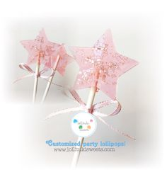 A personal favorite from my Etsy shop https://www.etsy.com/listing/448933428/12-dozen-of-cute-star-lollipops-pink