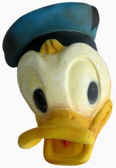 Donald Duck Figural String Holder,1950's