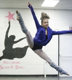 In 2015, Nikki's goal is to perfect her left turns by summer. #mydreamsandgoals | dance wear