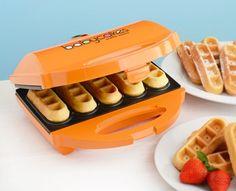 Mini waffle maker!