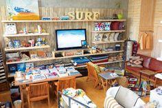 アクセントで心穏やかになる西海岸&サーフスタイル|小さな部屋にも似合うものが見つかる!|CREA WEB(クレア ウェブ)