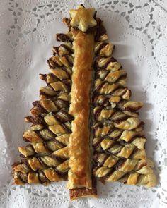 Árbol de Navidad relleno de Nutella