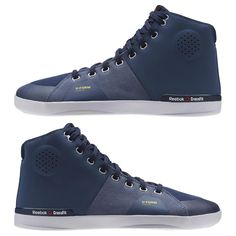 reebok crossfit shoes blue. reebok - crossfit lite tr mid 2.0 canvas crossfit shoes blue