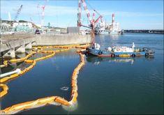 シルトフェンス交換作業(1)  撮影日 2012年11月14日
