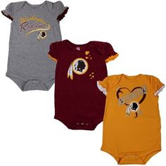 San Diego Chargers Newborn 3-Pack Creeper Set - Navy Blue/White ...
