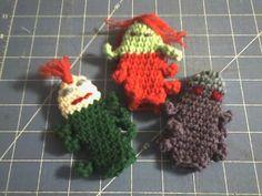 Deb's Crafts: Little Bugs Finger Puppets Free Crochet Pattern