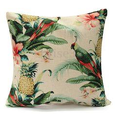 Tropical-Leaves-Chair-Cushion-Cover-Home-Room-Decorative-Sofa-Throw-Pillow-Case