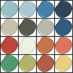 Lisa Mende Design: Benjamin Moore Williamsburg Paint Colors Trend Meets Tradition