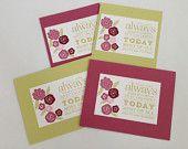 Floral Birthday Cards - Happy Birthday Card - Flower Birthday Cards - Women's Birthday Card - Birthday Card for Her - Birthday Card Set