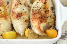 Jenny Steffens Hobick: Lemon, Garlic & Thyme Roasted Chicken on a Sunday night
