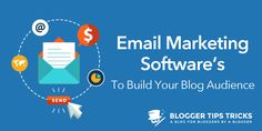 Best #EmailMarketing Software to Build Engagement | by @AnkitKrSingla | #BloggingTips  | for Bloggers Tips Tricks | Are you looking for best email marketing software to send newsletters and autoresponders to your subscribers? Here are 5 along with my fav one.