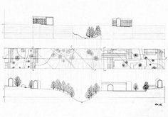Technical drawing - Landscape By: Mischa Stæhr