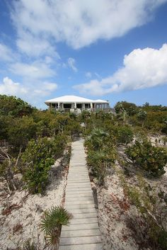 Turks and Caicos - Path to Beach House by Peter Crawford Smith, via Flickr >> I want to live here!