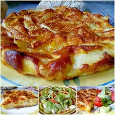 Mediterranean Recipes, Lasagna, French Toast, Greek, Breakfast, Ethnic Recipes, Lasagne, Breakfast Cafe, Greek Language