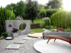 Great ideas for a small Garden.  Before and after pictures.  Gardendesign by Therese Knutsen