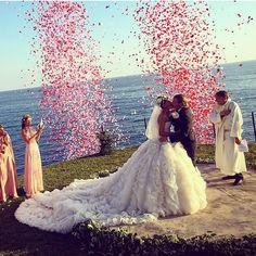 Fotos von Giovanna Battaglia's Hochzeit