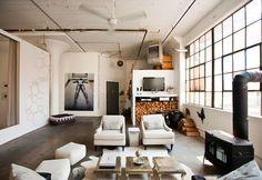 Méchant Design: brooklyn loft style