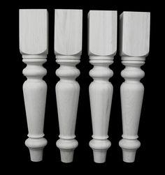 "Simcoe table legs 6"" x 35""."