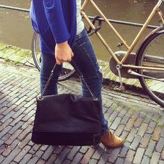 Beautiful black bag! Www.sibin.nl