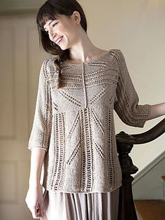 Lace Pullover Free Knitting Patterns