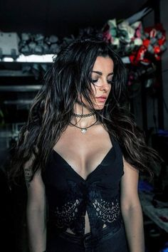 Bebe Rexha 💕 Miss her black hair 💕 Bebe Rexha, Goth Women, Brunette Beauty, Bikini, Female Singers, Woman Crush, Girl Crushes, Celebrity Style, Celebs