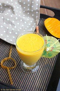 How to Mango Milkshake