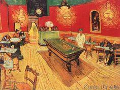 Vincent van Gogh - Caffe di notte