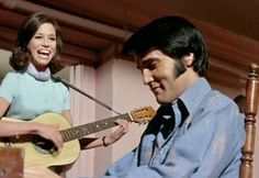 """Mary Tyler Moore and Elvis Presley in """"Change of Habit"""" 1969 31 Film, Tv Happy, Change Of Habit, 1969 Movie, Mary Tyler Moore Show, King Creole, Ricky Nelson, Lisa, Type 1 Diabetes"""