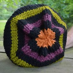 Waiting for the person as in love with Halloween and slouchy hats as I am to come along and buy this one.  $26 shipped within the U.S.  Just let me know in comments if you want it and it's yours.
