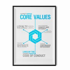 Core Values and Code of Conduct Posters by BEEZ'NEEZ