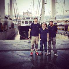 El equipazo!! De #teaktock super Teak Tock #team #yachting #superyacht #igers #palma #mallorca #refit #yachtmanagement #boat #barco #teakdecking #palmayachteye http://teaktock.es http://ift.tt/2hGft6f